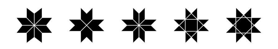 Set etniczni Baltic przecinający ornamentacyjni symbole również zwrócić corel ilustracji wektora royalty ilustracja