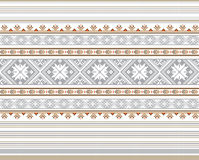 Set Etniczny ornamentu wzór w różnych kolorach również zwrócić corel ilustracji wektora Zdjęcie Royalty Free