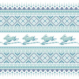 Set Etniczny wakacyjny ornamentu wzór w różnych kolorach Zdjęcia Stock