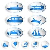 Podróży etykietki, logowie i majchery, Zdjęcie Stock