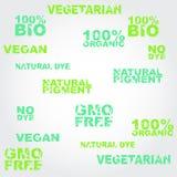 Set etykietki z grunge skutkiem Obraz Stock