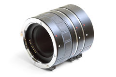 Set of extension tube Royalty Free Stock Photography