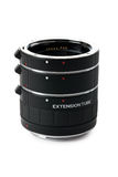 Set of extension tubes Royalty Free Stock Images
