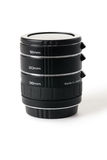 Set of extension tubes Royalty Free Stock Image