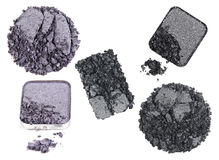 Set eye shadow Royalty Free Stock Photography
