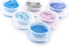 Set of eye shadows Royalty Free Stock Photo