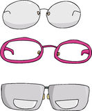 Set of Eyeglasses Stock Photography