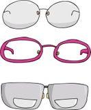 Set of Eyeglasses Stock Photography