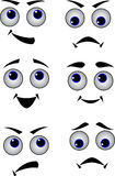 Set of eyes Royalty Free Stock Photography