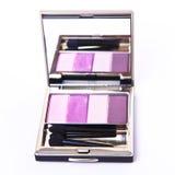 Set of eyeshadows Royalty Free Stock Image