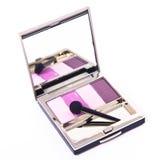 Set of eyeshadows Stock Images