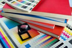 set för färgadministration Arkivbild