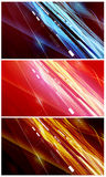 set för flöde för energi för datadesigner Royaltyfri Fotografi