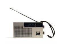 set för radio för musik 01 retro Arkivfoto