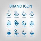 Set of facilities icon. Vector illustration vector illustration
