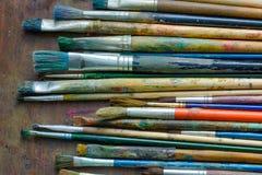 Set farb muśnięcia Obrazy Royalty Free