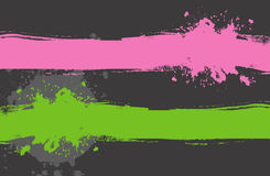 Set Farbspritzen vektor abbildung