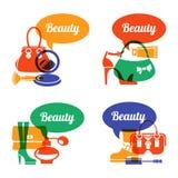 Set of fashion shopping icons Stock Images