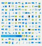 Set of fashion stickers Royalty Free Stock Images