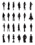 Set of fashion women vector Stock Photo