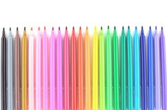Set of felt-tip pens Stock Photo