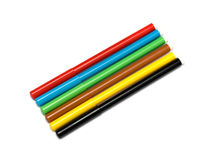 Set of felt-tip pens of different colors Royalty Free Stock Photo