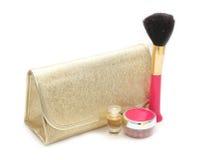 Set of female cosmetics Stock Photo