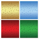 Set of festive backgrounds. Four backgrounds Christmas style. Ve Stock Photography