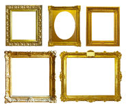 Set of few picture frames Stock Images