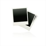 Set   film blanks. On white background Stock Photos