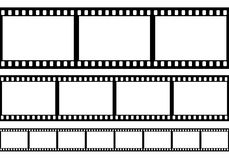 Set of film frame,. Illustration Stock Image