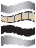 A set of films. For the design Royalty Free Stock Photography