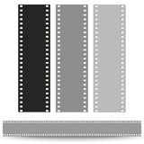 Set of films pattern vector background Stock Image