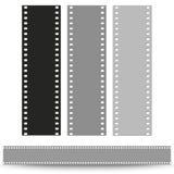 Set of films pattern vector background. Set of films pattern background vector illustration Stock Image