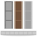 Set of films pattern vector background. Set of films pattern background vector illustration Stock Photos