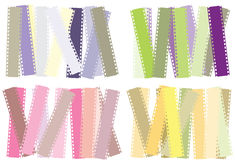 Set of filmstrip background Stock Photo