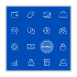 Set of Finance Money Vector Illustration Elements can be used as. Logo or Icon in premium quality EPS Stock Photography