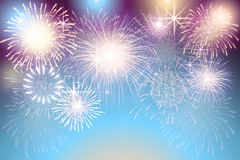 Set of   fireworks on a transparent background. A set of   fireworks on a transparent background Stock Photos