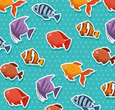 Set fish aquarium icon. Vector illustration design Stock Photography