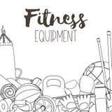 Home gym equipment Stock Photo