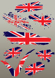 Set flags Royalty Free Stock Image