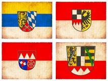 Set of flags from Germany  Stock Photography