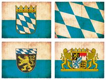 Set of flags from Germany  Stock Image