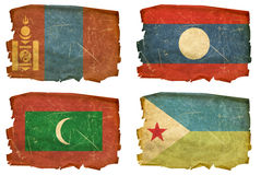Set Flags old # 29 Stock Images
