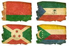 Set Flags old # 36 Royalty Free Stock Images