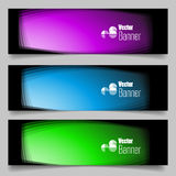 Set of flat design Banners Stock Images