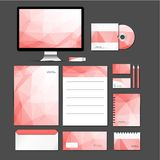 Set of flat design concept icons Stock Image