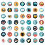 Set of Flat Design Concept Vector Illustration Stock Photos
