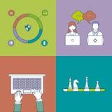 Set of flat design vector illustration concepts Stock Photo