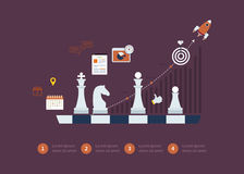 Set of flat design vector illustration concepts Royalty Free Stock Photo